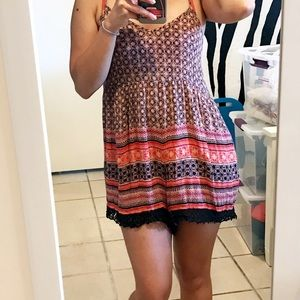 Urban Outfitters / Colorful Pattern Romper
